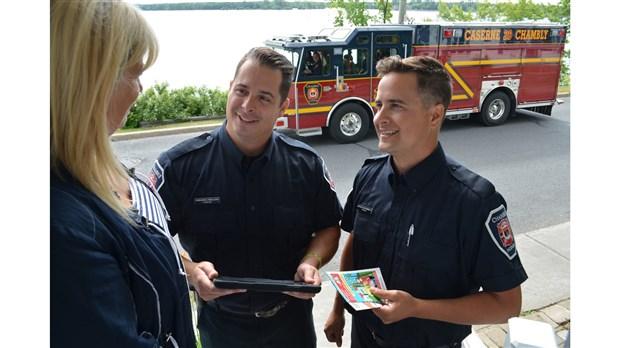 Debut Des Visites Residentielles De Prevention Incendie A Chambly